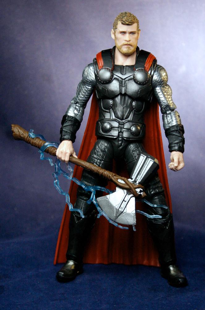"""Marvel Legends 6/"""" Inch Cull Obsidian BAF Wave Infinity War Thor Loose Complete"""
